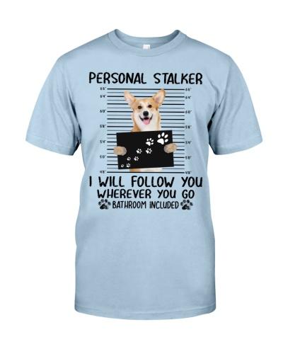 Corgi Personal Stalker