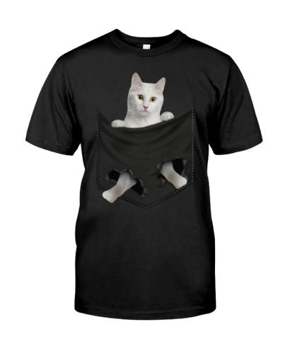 Turkish Angora Cat 01 In Pocket Mid