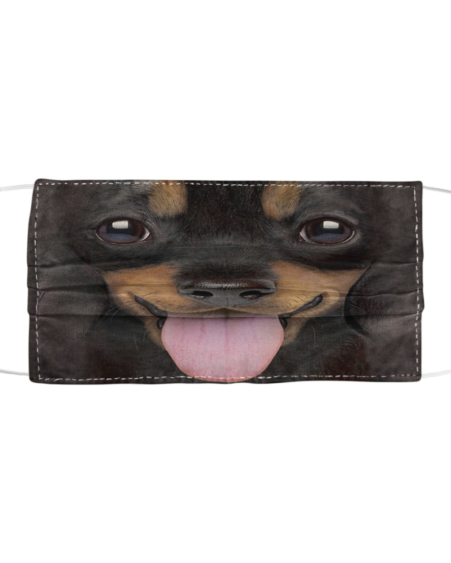 Dachshund Puppy Cloth face mask