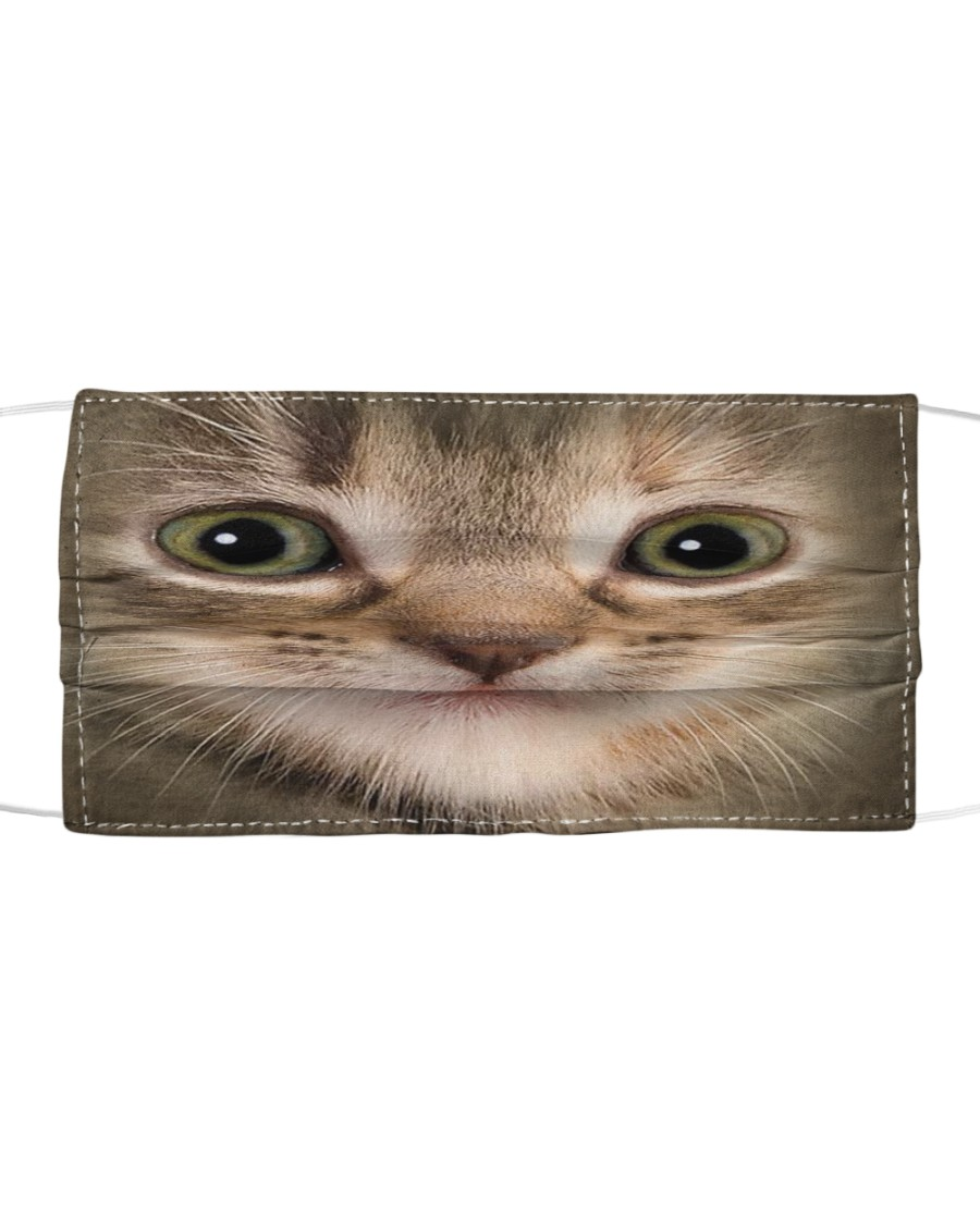 Kitten Cloth face mask