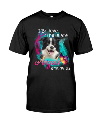 I Believe There Are Angels Among Us Border Collie