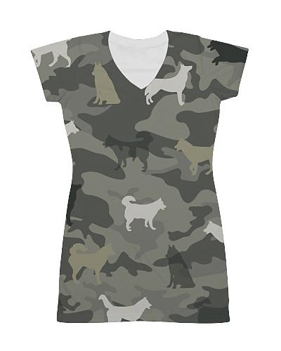Siberian Husky Camouflage