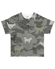 Siberian Husky Camouflage All-over T-Shirt front