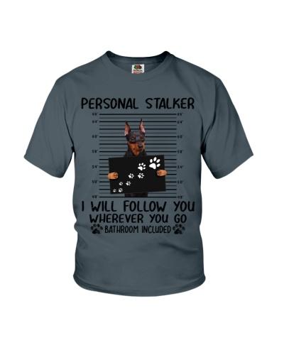 Miniature Pinscher Personal Stalker