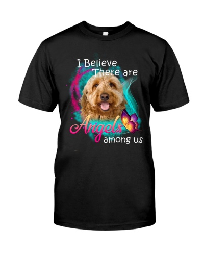 I Believe There Are Angels Among Us Goldendoodle