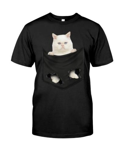 Persian Cat 02 In Pocket Mid