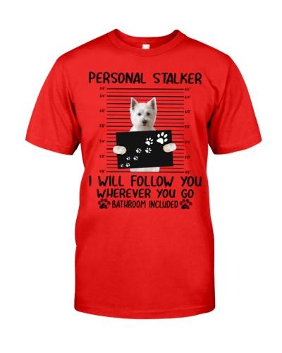 West Highland White Terrier Personal Stalker