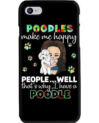 Poodles make me happy