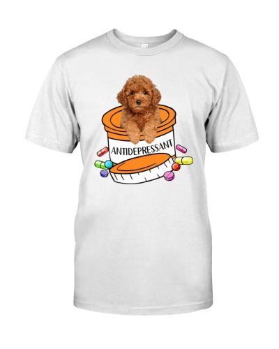Antidepressant Poodle