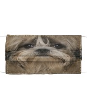 Shih Tzu Cloth face mask front