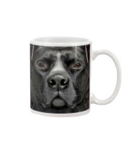 Black Pitbull Mug tile