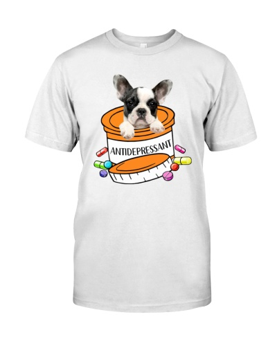 Antidepressant French Bulldog