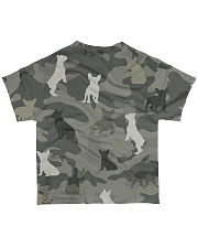 French Bulldog Camouflage All-over T-Shirt back