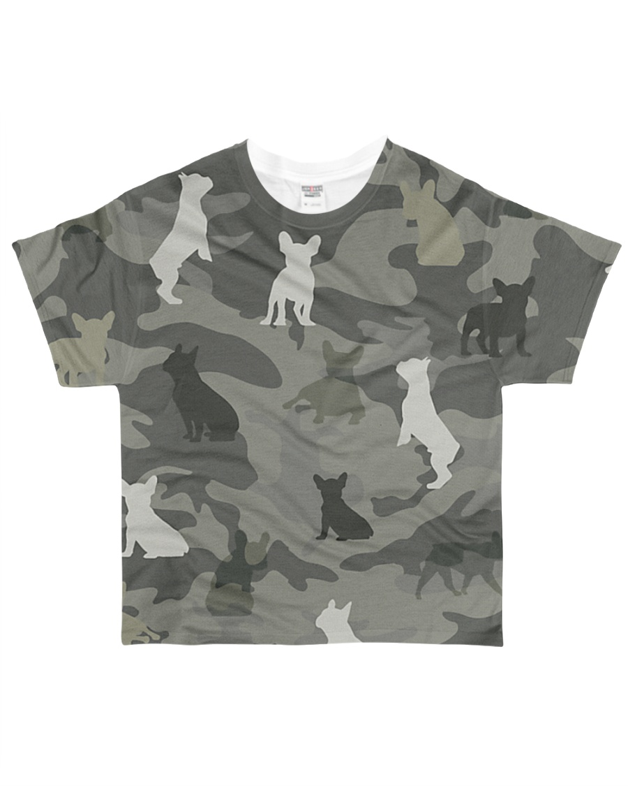 French Bulldog Camouflage All-over T-Shirt