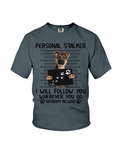 German Shepherd Personal Stalker