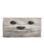 Maltese Cloth face mask front