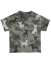 Chihuahua Camouflage All-over T-Shirt back