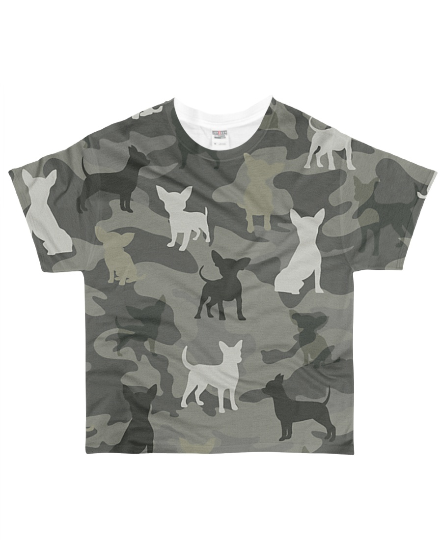 Chihuahua Camouflage All-over T-Shirt