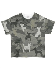 Chihuahua Camouflage All-over T-Shirt front
