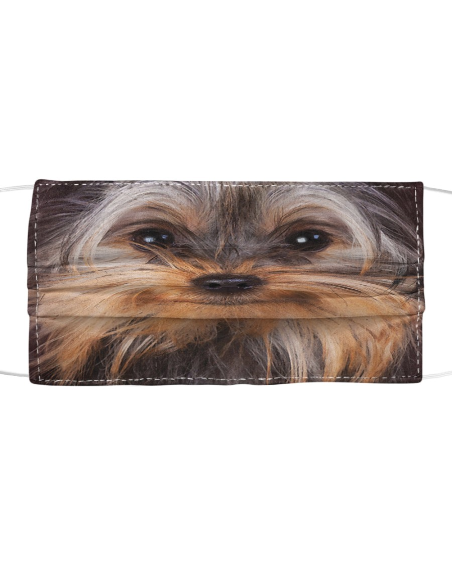 Yorkshire Terrier Cloth face mask