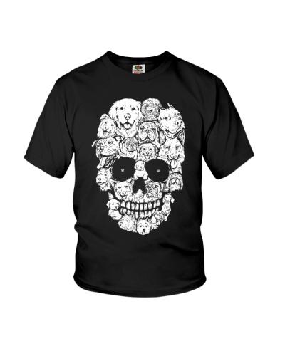Dog and Skull