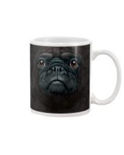 Pug Black Mug thumbnail