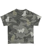 Shih Tzu Camouflage All-over T-Shirt back