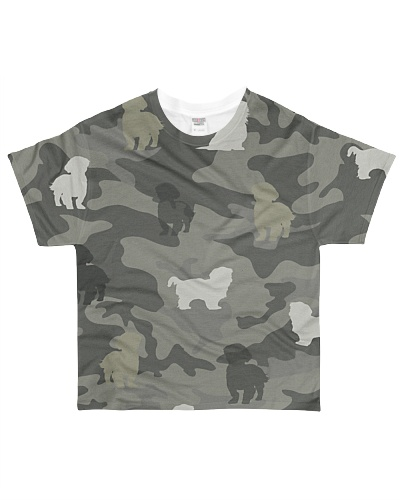 Shih Tzu Camouflage
