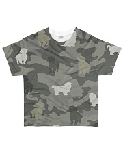 Shih Tzu Camouflage All-over T-Shirt front