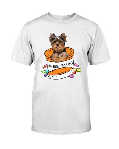 Antidepressant Yorkshire Terrier