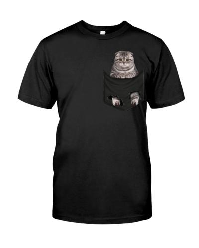 Scottish Fold Cat 02 In Pocket