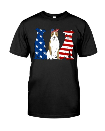 Flag American Staffordshire Terrier