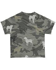 Labrador Retriever Camouflage All-over T-Shirt back