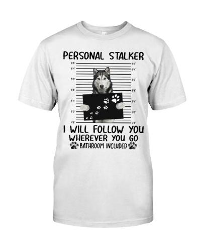 Husky Personal Stalker