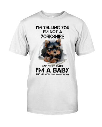 I'm Telling You I'm Not A Yorkshire Terrier