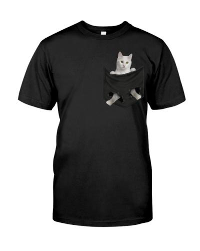 Turkish Angora Cat 01 In Pocket