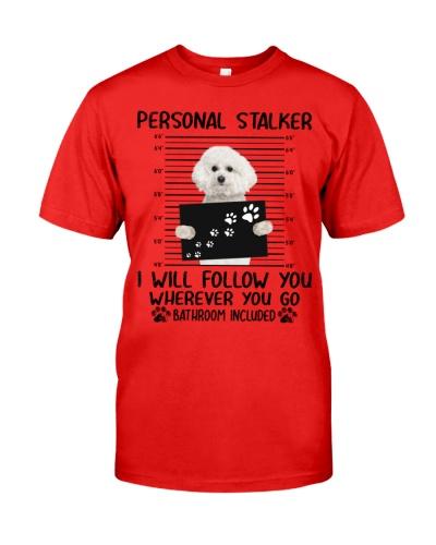 Bichon Frise Personal Stalker