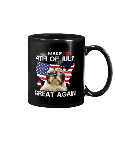 Make 4th Of July Great Again Shit Tzu