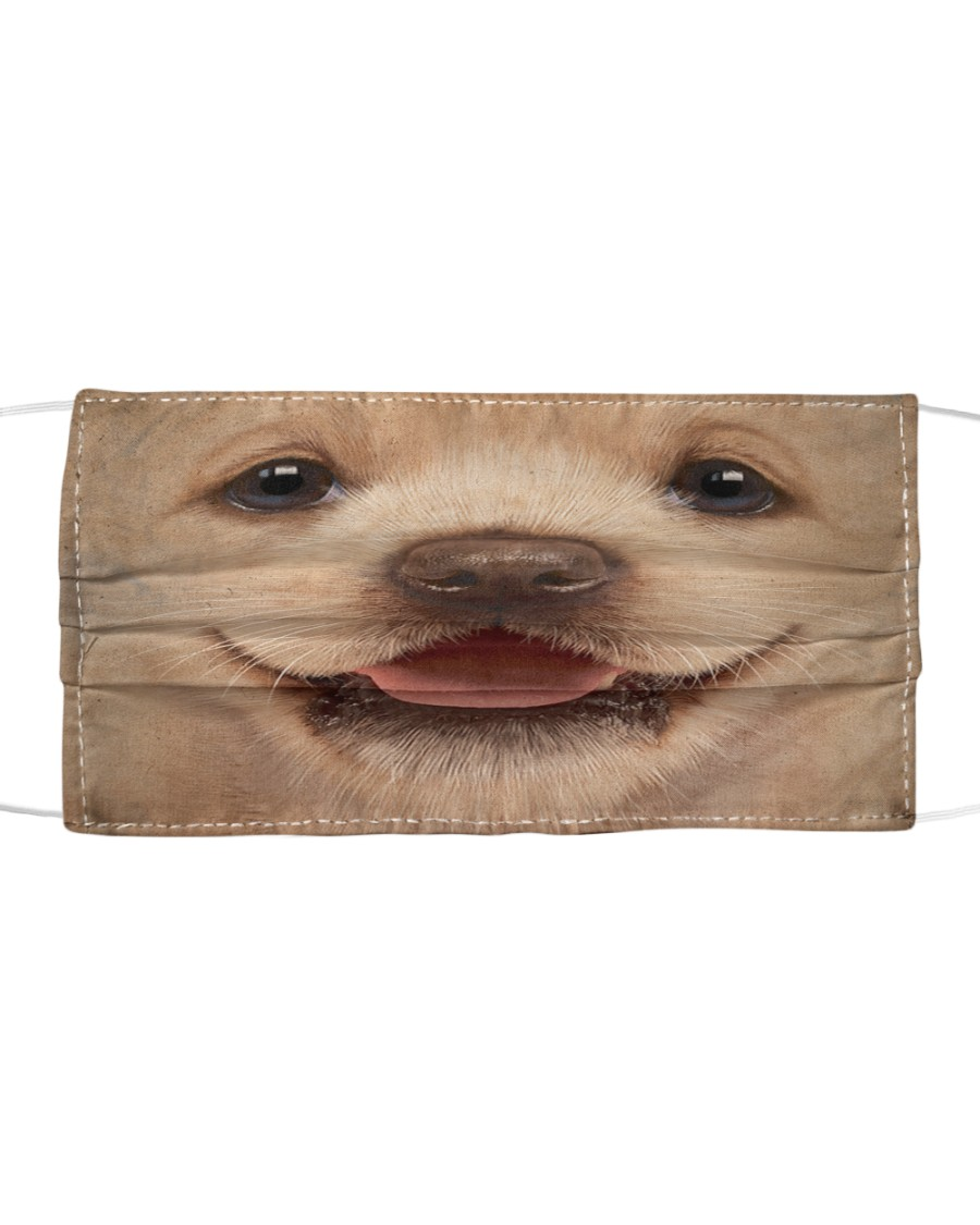 Labrador Puppy Cloth face mask