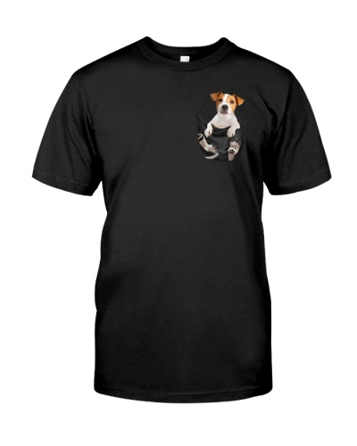 Russell Terrier In Pocket