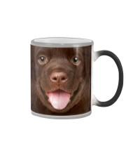 Chocolate Labrador Puppy Color Changing Mug thumbnail