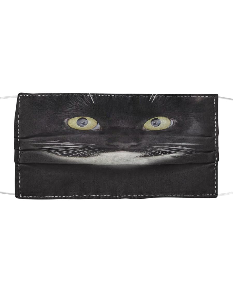 Tuxedo Cat Cloth face mask