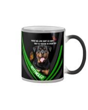 Rottweiler Color Changing Mug thumbnail