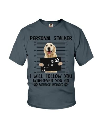 Golden Retriever Personal Stalker