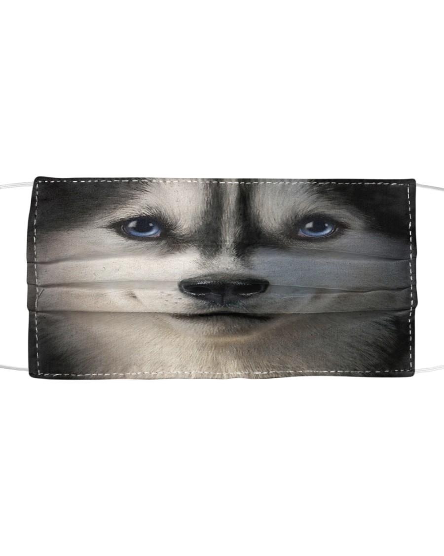 Siberian Husky Cloth face mask