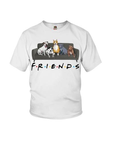 American Pit Bull Terrier Friends