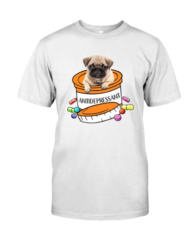 Antidepressant Pug