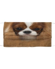 Cavalier King Charles Spaniel Cloth face mask front