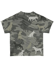 Golden Retriever Camouflage All-over T-Shirt back