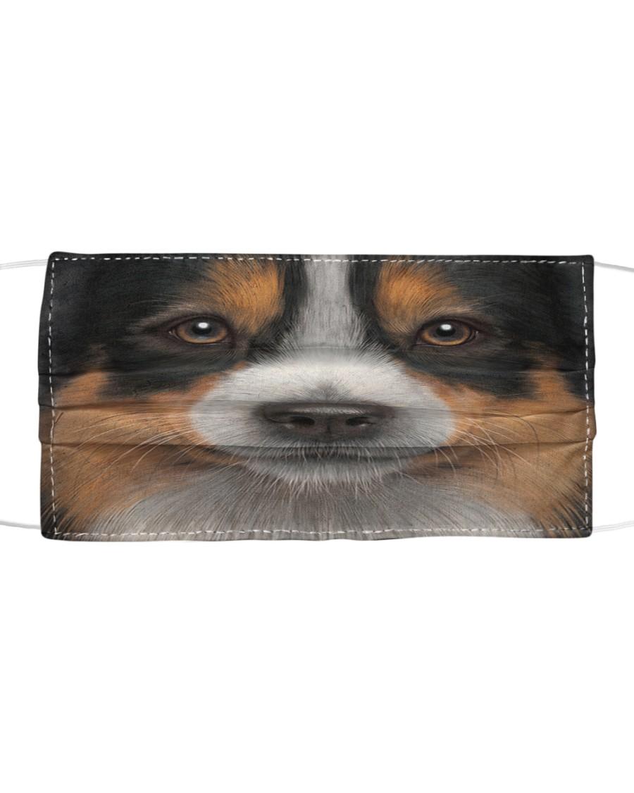 Australian Shepherd Cloth face mask